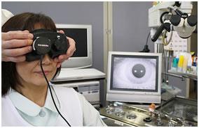 CCD付フレンツェル眼鏡